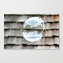 bubble wishes 2 Canvas Print