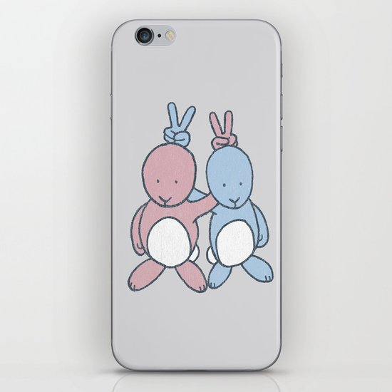 Bunny Ears iPhone & iPod Skin