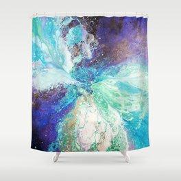 Falling Polish Shower Curtain