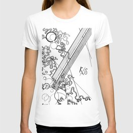Black and White Chaos T-shirt