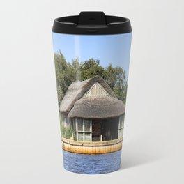 Horsey mere thatched cottage Travel Mug