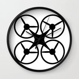 quadcopter logo Wall Clock