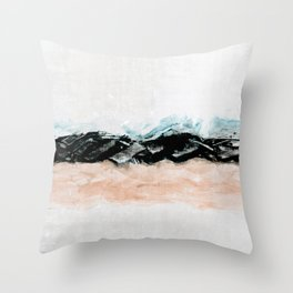 abstract minimalist landscape 10 Throw Pillow