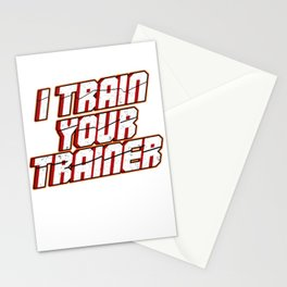 Expert Professional Trainer I Train Your Trainer Stationery Cards
