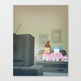 The Nick Yorkers in November Canvas Print