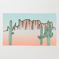 arizona Area & Throw Rugs featuring Arizona by Mrs. Ciccoricco