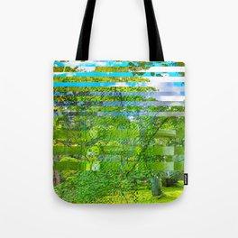 Landscape of My Heart (segment 1) Tote Bag