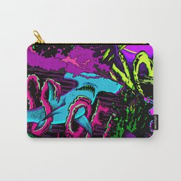 If sharks could talk Carry-All Pouch