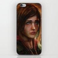 ellie goulding iPhone & iPod Skins featuring Ellie by Nicole M Ales