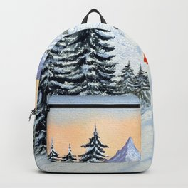 Skiing - The Clear Lady Leader Backpack