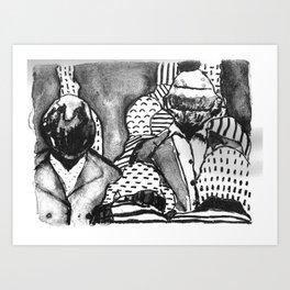 Daft Parade Art Print