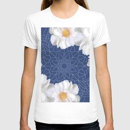 Daises and Mandala T-shirt