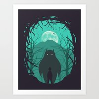 scary Art Prints featuring Scary Monsters and Nice Sprites by filiskun