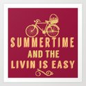 Summertime and the livin' is easy by greenlime