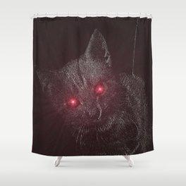 Bad Kitty! Shower Curtain