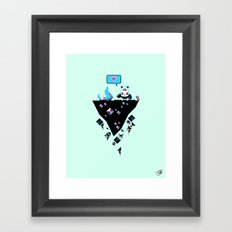 PandaC Framed Art Print