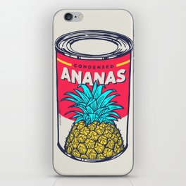Condensed ananas iPhone Skin