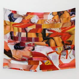 Spooning de Kooning (Provenance Series) Wall Tapestry