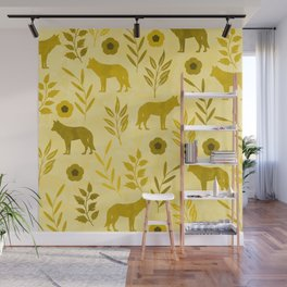 Forest Animal and Nature III Wall Mural