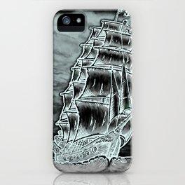 Caleuche Ghost Pirate Ship Variant iPhone Case