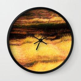 Fields Of... Wall Clock