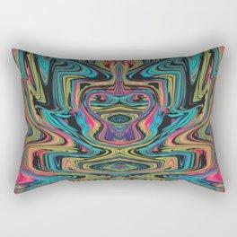 Alien Character Rectangular Pillow
