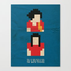 Fell In Love With a Girl Canvas Print