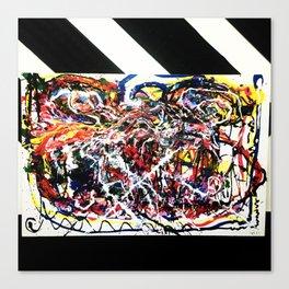 Dimension drain Canvas Print