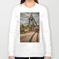 victorian Long Sleeve T-shirts featuring Victorian Mine by Adrian Evans