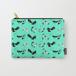 Mint shoes Carry-All Pouch