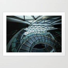 FOSTER | architect | London City Hall III #architecture Art Print