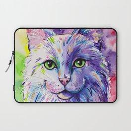 Not so white cat Laptop Sleeve