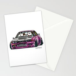 Crazy Car Art 0141 Stationery Cards