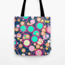 Colorful networks Tote Bag