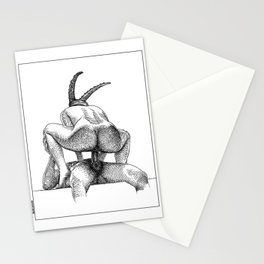 asc 623 - Le sacrifice du bouc (The performers I) First draft Stationery Cards