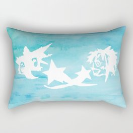 Kingdom Hearts Watercolor Rectangular Pillow