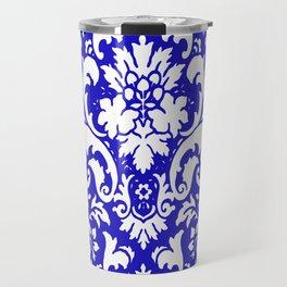 PAISLEY DAMASK BLUE AND WHITE 2019 PATTERN Travel Mug