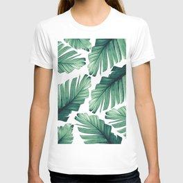 Tropical Banana Leaves Dream #3 #foliage #decor #art #society6 T-shirt