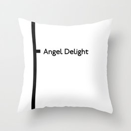 Angel Delight Throw Pillow