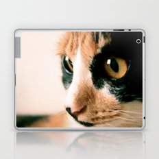 Thinking Cat Laptop & iPad Skin