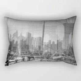 Brooklyn Bridge 3x Rectangular Pillow
