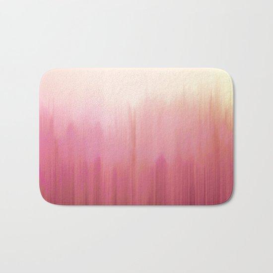 Soft Pink Woods Bath Mat