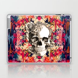 You are not here Day of the Dead Rose Skull. Laptop & iPad Skin