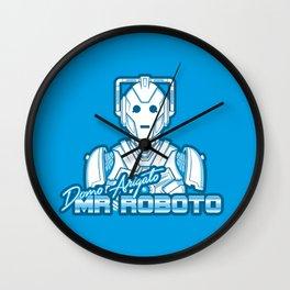 Domo Arigato Mr. Cyberman Wall Clock