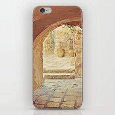 Jerusalem Courtyard iPhone & iPod Skin