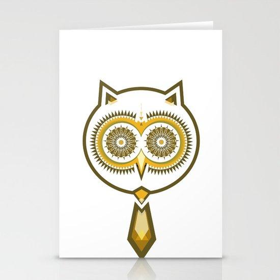 Mr. Owl Stationery Cards