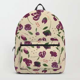 Purple Rose Backpack