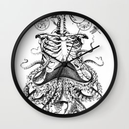 Engraving - Chimera_01 Wall Clock