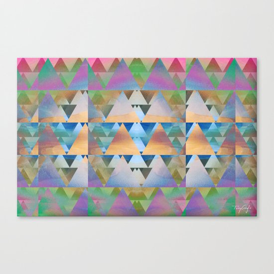 Triangular Canvas Print