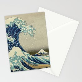 The Great Wave off Kanagawa - Katsushika Hokusai Stationery Cards